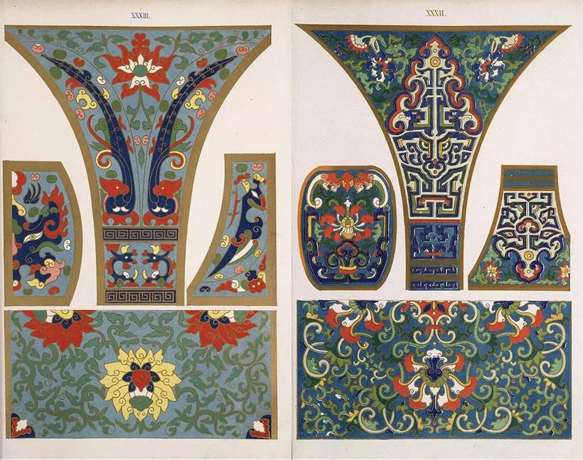纹样的演变 唐代植物纹样应用研究 浅析中国染织纹样从动物纹到花草纹