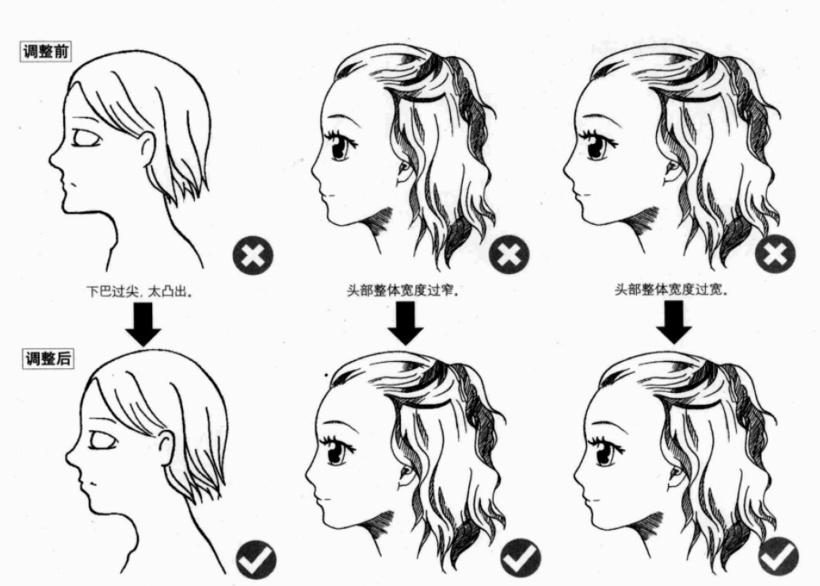 人体头部结构难点解析及漫画应用
