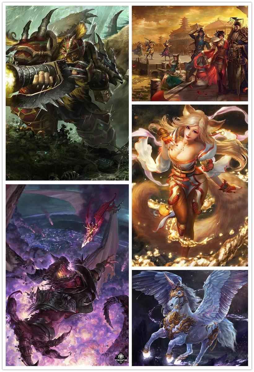 【原画设计】游戏原画角色设计-怪物的动作设计_绘画教程