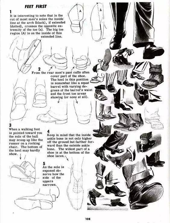 【动漫人物鞋子参考】一网打尽全种类的鞋~(附下载)