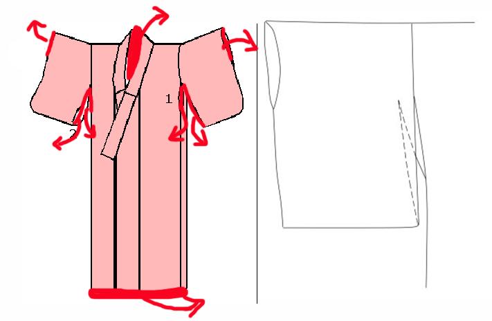 动漫女生常见衣服画法——日式和服篇-蓝铅笔 - 年轻