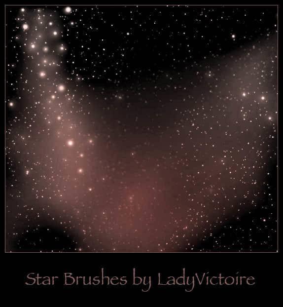 多种宇宙背景,银河系,星球,星空ps笔刷素材分享(附下载)-下