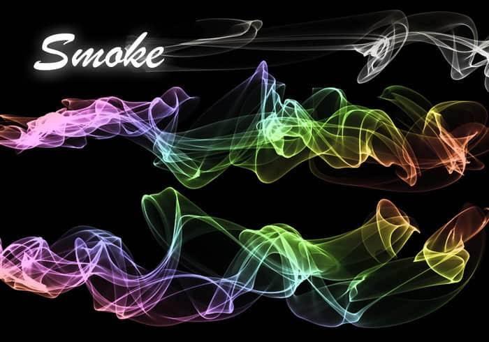 烟雾,水汽,烟气效果主题的ps笔刷素材大全,资源包大小为89.