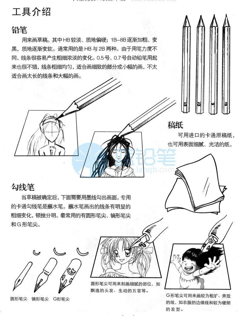 动漫人物的眼睛,眉毛,鼻子,嘴,耳朵,手,手臂,腿,脚,头发,表情绘画技法