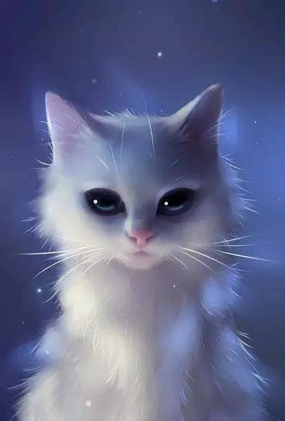 竟然能把宠物画得 如此可爱 又如此梦幻