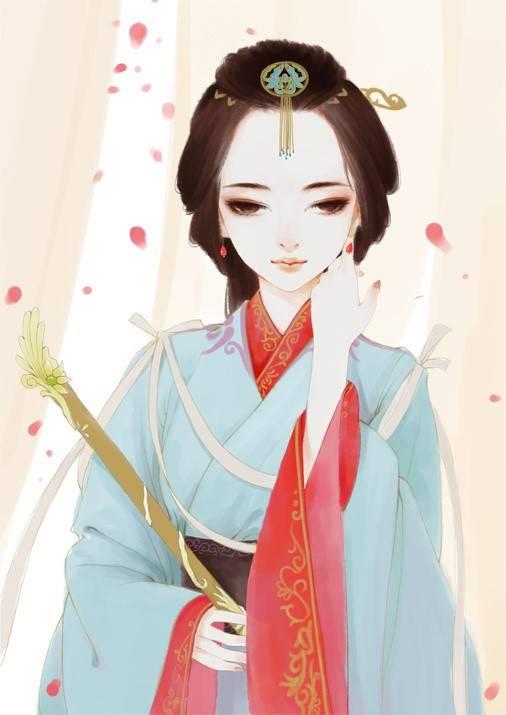 《古风绘画宝典之古代女子发饰盘点》-蓝铅笔 - 年轻