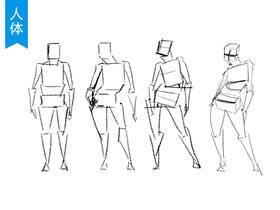 人体入门动态画法简析