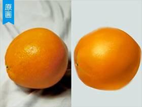 【原画厚涂】橘子的快速厚涂法