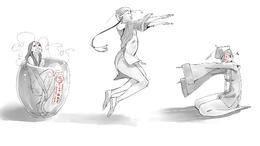【原画自习室】趣味人体动态姿势画法