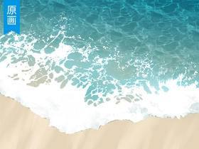 【原画教程】晶莹剔透的水滴绘制技巧_绘画教程