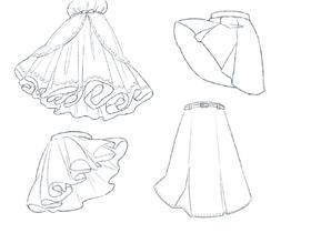 【翻译教程】看了就会画的小裙子和装饰的tips_绘画教程