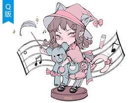 【Q版教程】procreate甜酷系Lolita小魔女_绘画教程