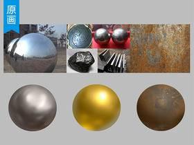 【原画场景】教你刻画以假乱真的金属材质